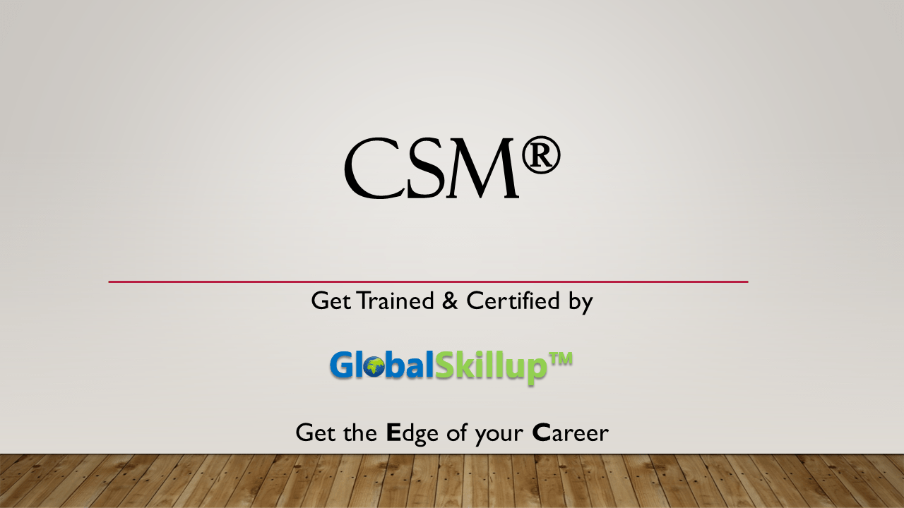 Csm classroom training in pune by globalskillup csm certified scrum master 1betcityfo Image collections