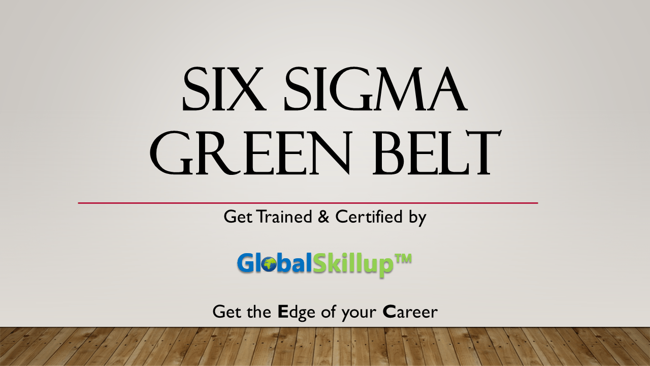 Six sigma green belt 1betcityfo Image collections