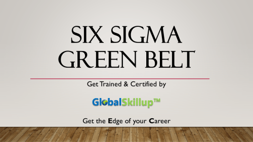 six sigma green belt certification cost in india Archives ...