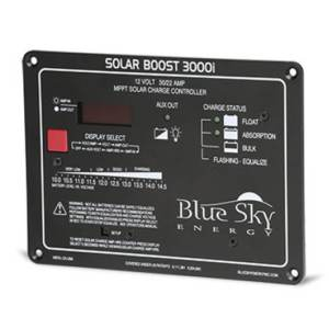 BLUE SKY SB3000 MPPT CONTROL SOLAR BOOST CHARGE CONTROL 22A/30A 12V PNL MOUNT DISPLAY