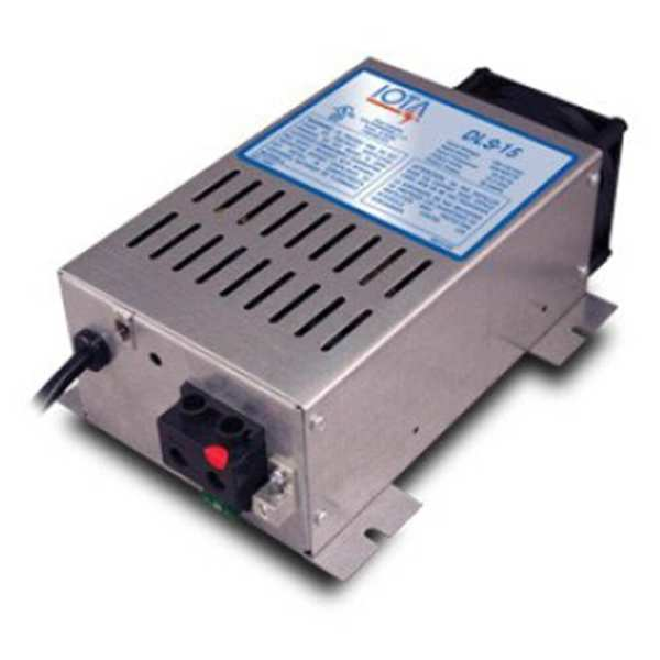 Iota Dls-15 Battery Charger 15a 12vdc 120vac - Global Solar Supply