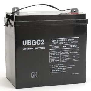UBGC2 Battery_GlobalsolarSupply