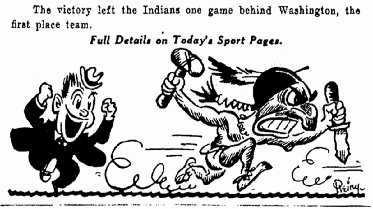 With Chief Wahoo gone, sport has one less racially
