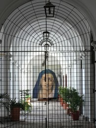 Inside the Monastery - La Compañia