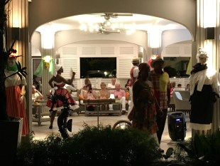 Carnival Dancers at La Pagerie