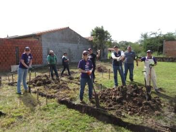 Go team - Maria Delia's House - Day 1