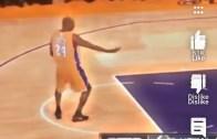 Yo who did this?? Kobe moonwalking ?