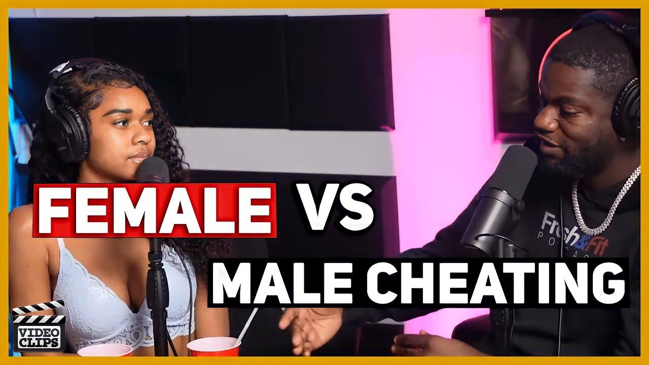 Females cheating vs males