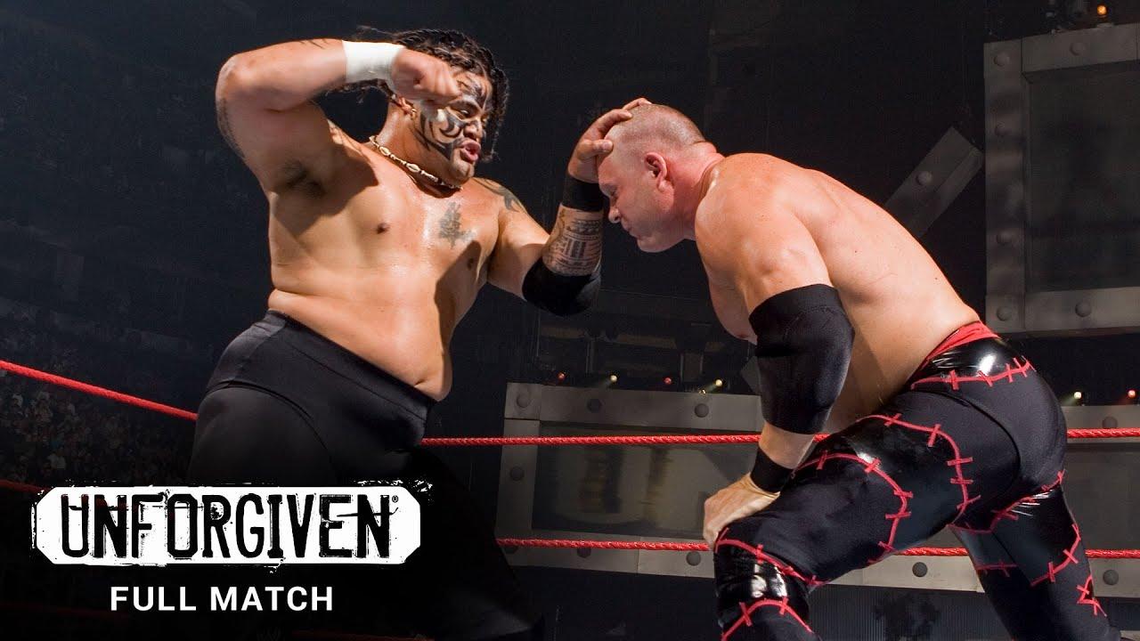 Kane vs. Umaga legendary fight