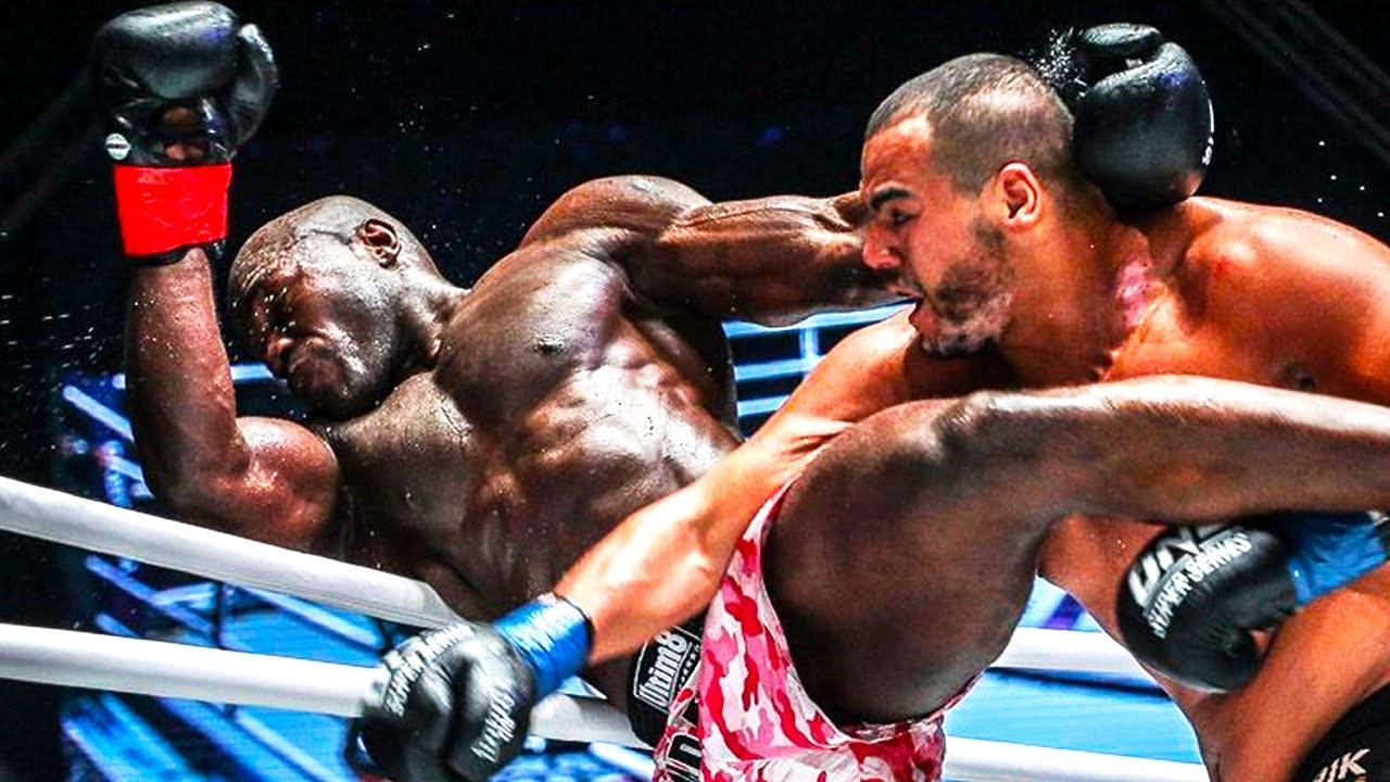 The heavyweight brawl between Alain Ngalani & Tarik khbabez😱