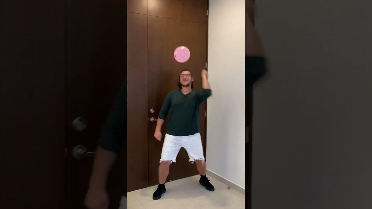 Water balloon prank!!🤣
