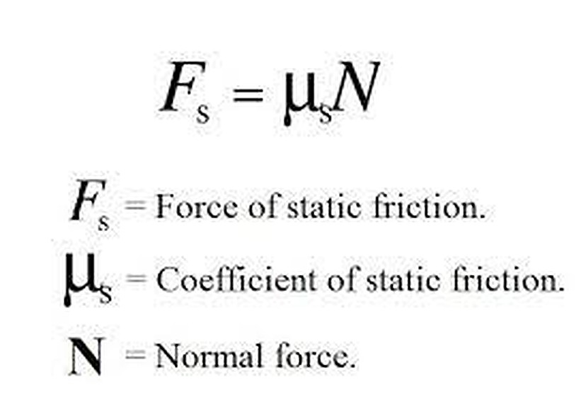 MOTION: FORCE AND FRICTION