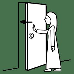Close The Door Cartoon Images