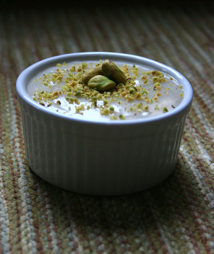 Cardamom & Rose Water Custard | Firnee