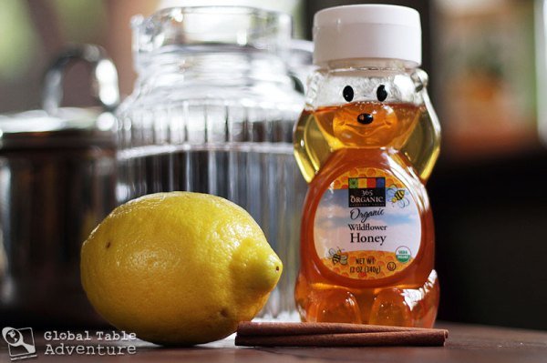 Hot Honey Lemon with Vodka | Global Table Adventure