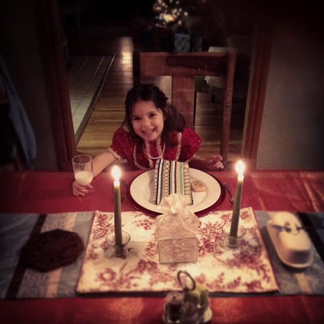 2012 christmas eve dinner