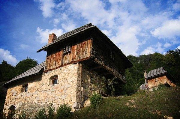 Old mills on waterfall Sopotnica, Jadovnik mountain, Serbia. Photo by Goran Anđelić.