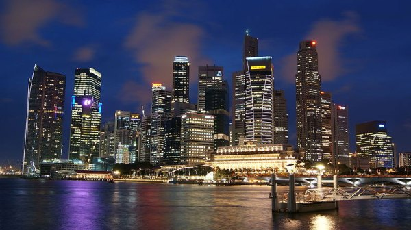 Singapore Skyline. Photo by Merlion44