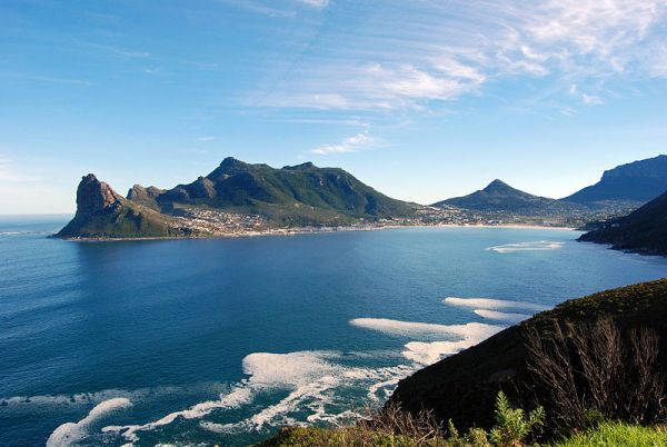 Chapman's Peak is the name of a mountain on the western side of the Cape Peninsula, about 15 kilometres south of Cape Town, South Africa. Photo by Harvey Barrison.