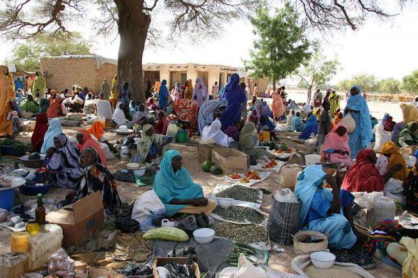 Market in Darfur courtesy of COSV.