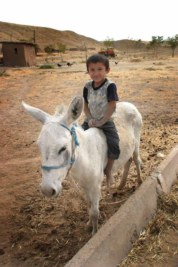 A boy in Tajikistan. Photo by Steve Evans.