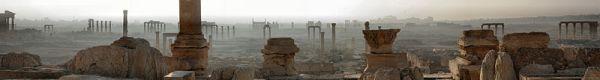 Palmyra, Syria. Photo by Zelidar.