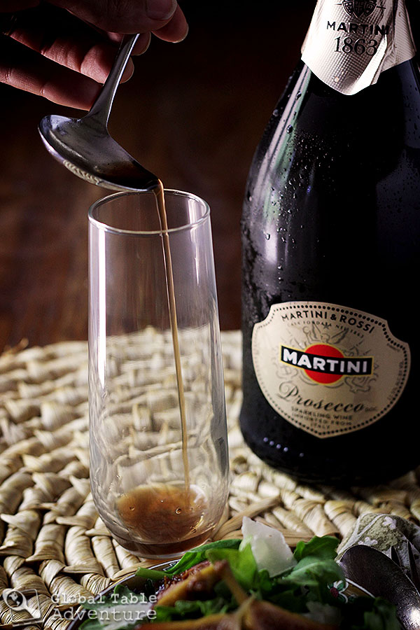 How to spike prosecco with balsamic vinegar