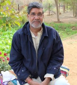 Kailash Satyarthi. Photo by Leandro Uchoas.