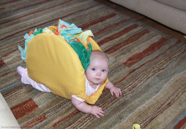 Taco (16 Halloween Costumes Made from the World's Most Iconic Foods)