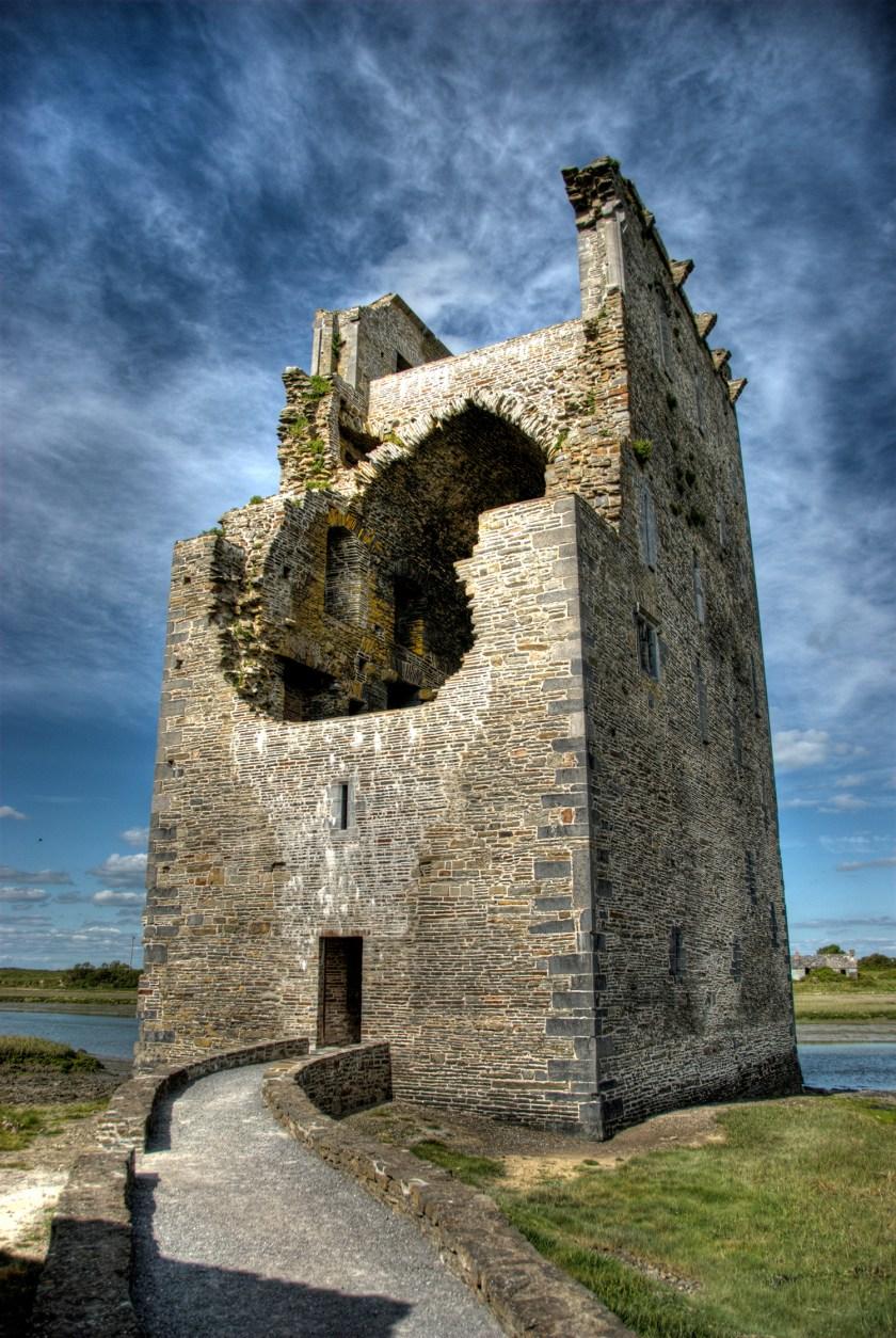 Photo of Carrigafoyle Castle, Co. Kerry, Republic of Ireland.