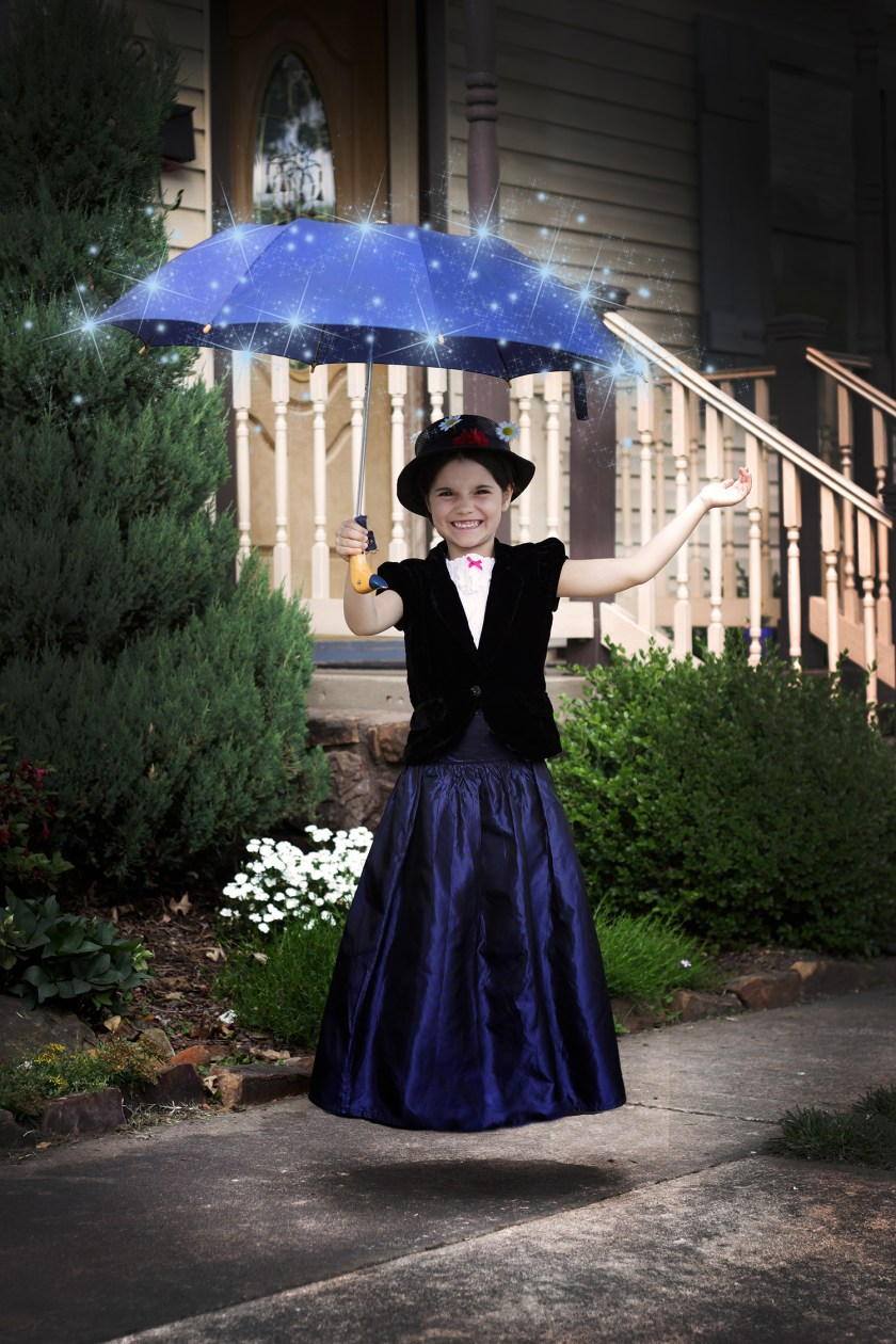 Mary Poppins Birthday Party: Floating Invitation