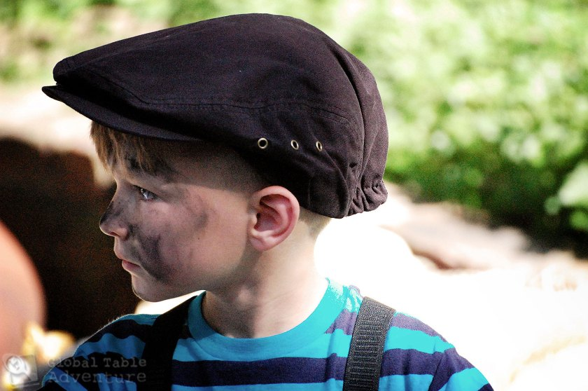 Mary Poppins Birthday Party: Chimney Sweep Costume