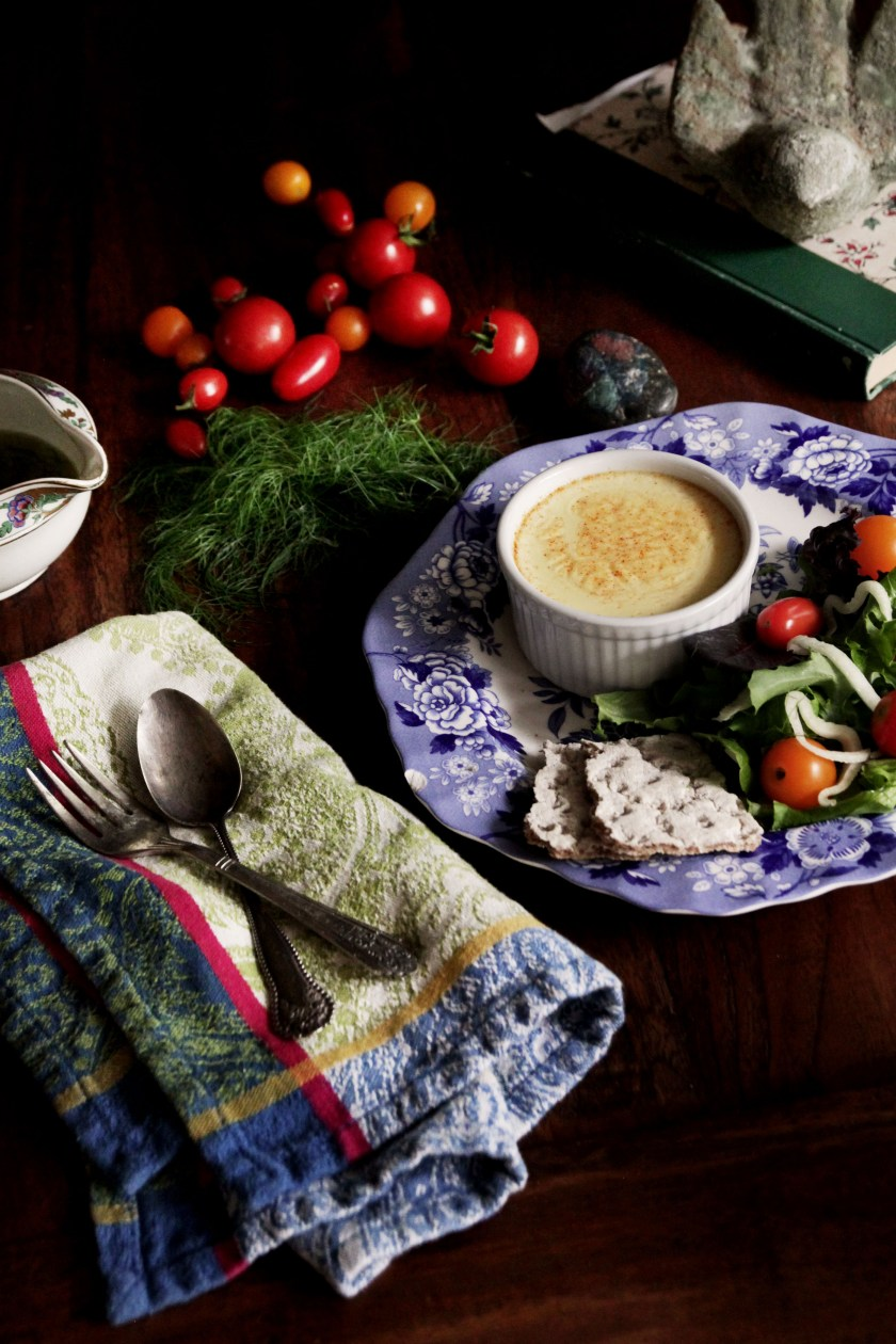 Swedish Cheese Custard Recipe