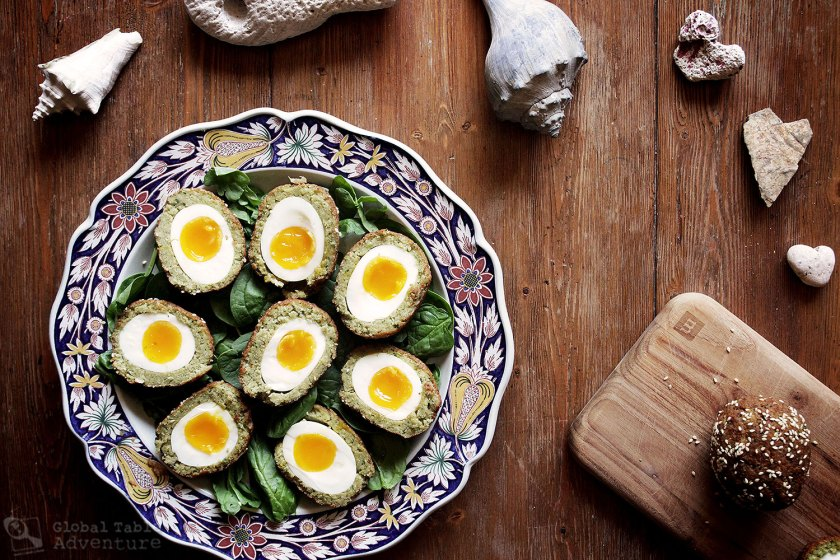 Vegetarian Falafel Scotch Eggs Recipe