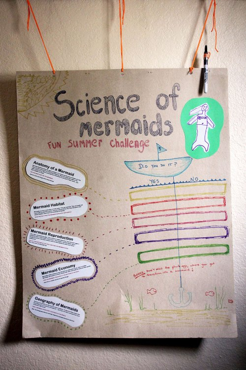 small resolution of science of mermaids birthday party challenge checklist