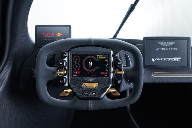 Aston Martin Valkyrie Steering