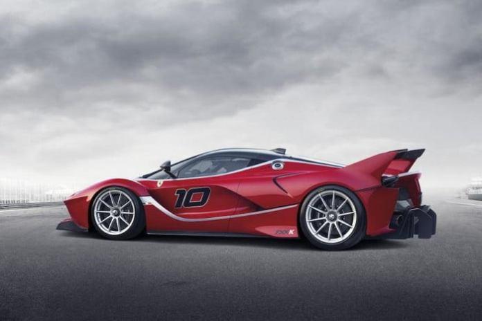 Ferrari LaFerrari FXX Red Car