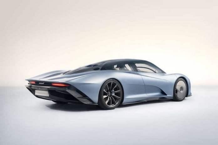 McLaren Speedtail Grey