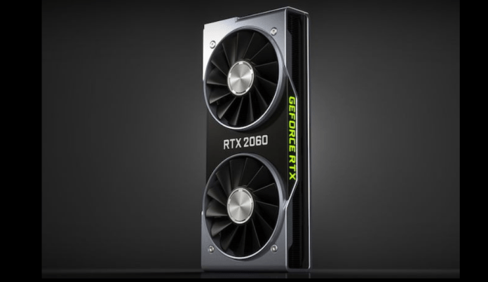 NVidia GeForce RTX 2060 Graphic card