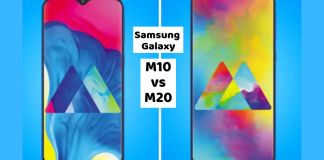 Samsung Galaxy M10 vs Samsung Galaxy M20