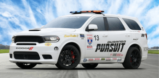 New Dodge Durango SRT Pursuit with 797-Horsepower Hellcat Redeye Engine