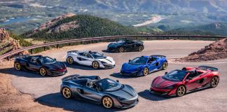 McLaren Denver Debutes 600LT Pikes Peak Collection From MSO