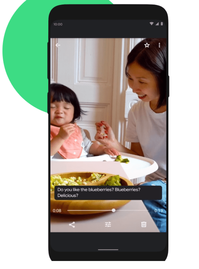 Live Captions - Android 10