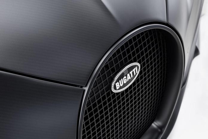 Bugatti Chiron Edition Noire Sportive Grills