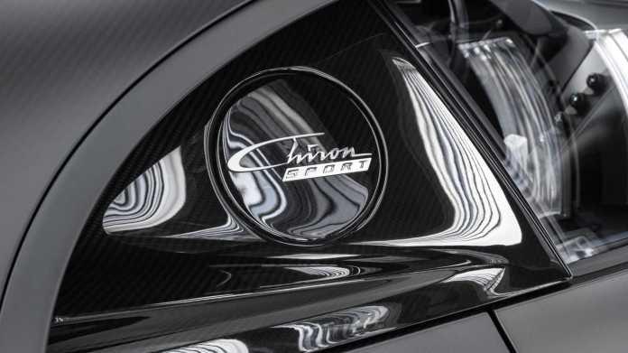 Bugatti Chiron Edition Noire Sportive Logo