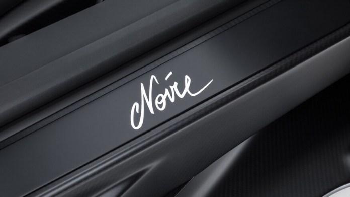 Bugatti Chiron Edition Noire Sportive Signature