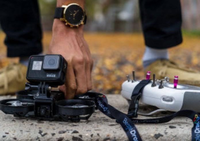Attach GoPro to Nova Drone