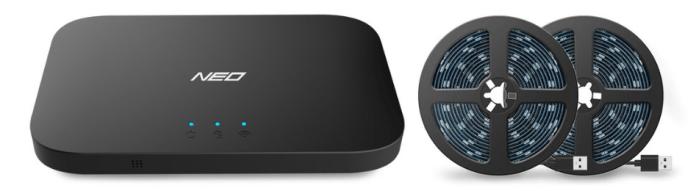 Light Mi Neo Box and LED Strip