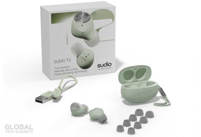 What you get in Sudio T2 Box