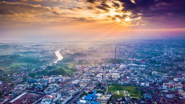 Rantau Prapat Sunrise-DJI-Mavic-Pro